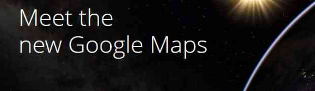 The New Google Maps A Sneak Preview