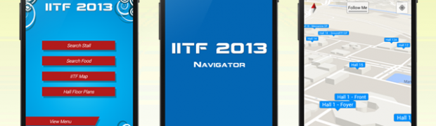 IITF 2013 Mobile app for Pragati Maidan Complex