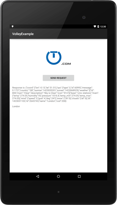 Android Volley Making A Synchronous Request Truiton