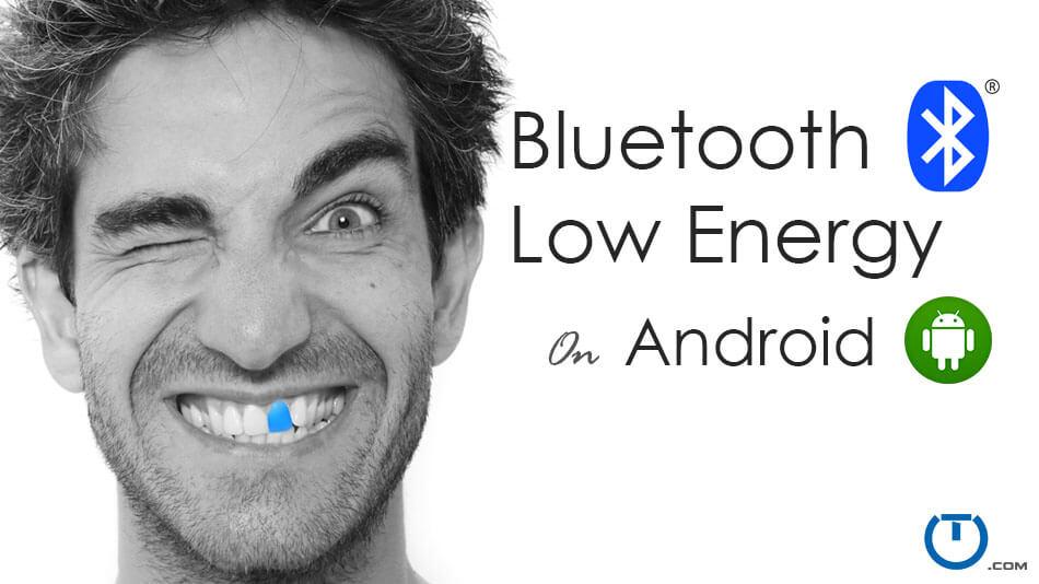안드로이드 연습 : Android Bluetooth Low Energy(BLE) Example : 네이버