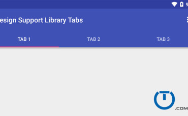 Android Tab Example